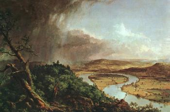 Thomas Cole : The Connecticut River Near Northampton